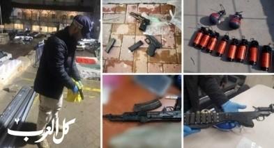 الشمال: أكثر من 140 مشتبهًا بمخالفات سلاح