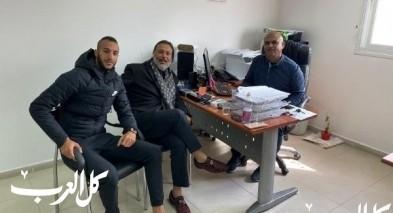 انضمام اللاعب محمود يوسف الى صفوف هـ شباب اللد
