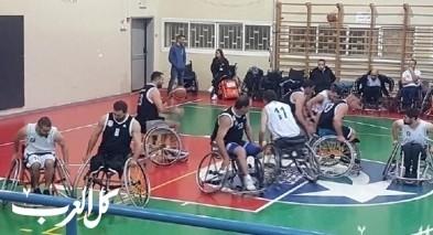 خسارة بيتية لشباب مجد الكروم بكرة السلة للعجلات