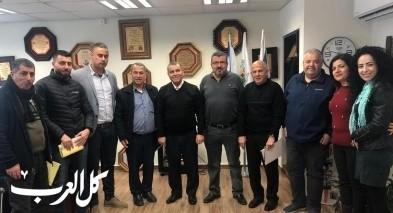 بستان المرج: رئيس المجلس يلتقي مدراء المدارس