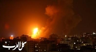 طائرات الجيش الاسرائيلي تنفذ سلسلة غارات على غزة