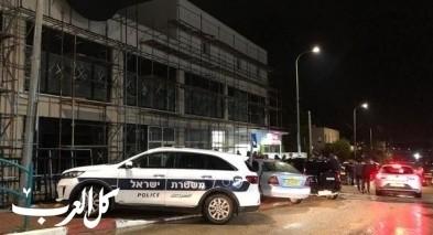 كفرقرع: إطلاق وابل من الرصاص على مبنى