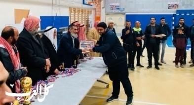 فريق حورة يتوّج بطلا لدوري روّاد النقب