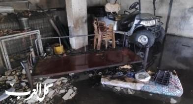 دفاية أسلاك تتسبب باندلاع حريق بمنزل في رمانة
