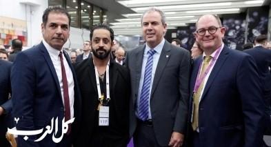 رئيس بورصة دبي يشارك في معرض المجوهرات بتل ابيب
