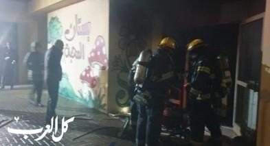 طرعان: احراق صفوف البساتين من قبل مجهولين