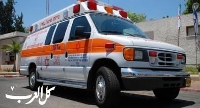 إصابة شخصين بحادث قرب كوكب ابو الهيجاء