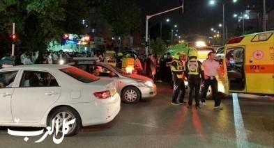 حيفا: إصابة سائق دراجة نارية بحادث طرق