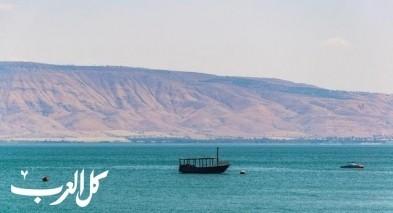سلطة المياه: ارتفاع منسوب مياه بحيرة طبريا بـ2.5 سم