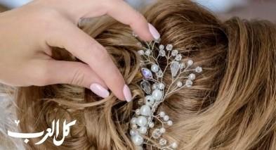 تسريحات شعر جميلة وعصرية للعرائس