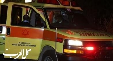 الرملة: إصابة طفل جراء سقوطه عن ارتفاع