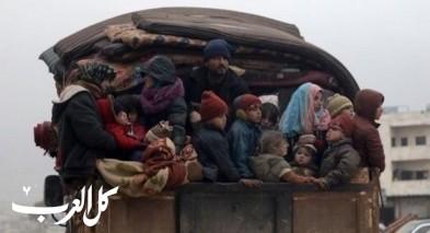 142 ألف نازح شمال غرب سوريا