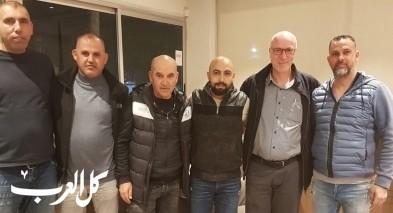 إدارة فريق عارة عرعرة تتفق مع المدرب محمد سمارة
