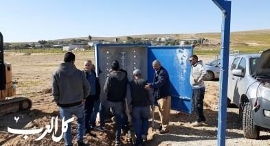 النقب: المياه تصل إلى قريتي خشم زنّة وصويوين