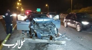 اصابة شخصين بحادث طرق قرب شفاعمرو