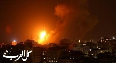 غارات على أهداف لمنظمة حماس في غزة