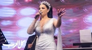 ديانا كرزون تغازل جمهورها بحفل عيد الحب في الاردن