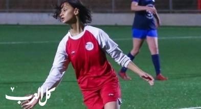 دعوة اللاعبة الواعدة سما غاوي لتدريبات منتخب اسرائيل