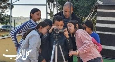 السلام المدرسة العربية المشاركة بمشروع السينما بالنقب