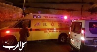 اصابة شاب (33 عامًا) بجراح جراء تعرضه للطعن في عكا