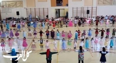 الناصرة: حفلات تنكريّة لراقصين وراقصات مدرسة الامل