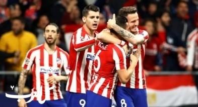أتلتيكو مدريد يفوز على ليفربول بقدم ساؤول ويؤجل الحسم