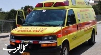 المركز: اصابة سيدة اثر سقوطها عن دراجة هوائية