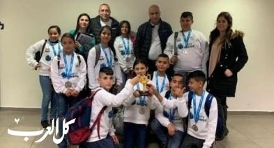 فوز ابتدائيّة د عبلّين في مسابقة الروبوتيكا القطريّة