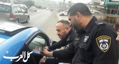 حملة لشرطة السير في قرى الجليل: تحرير 347 مخالفة