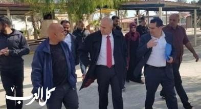شموئيل أبواب يزور مدارس المجتمع البدوي في الجنوب