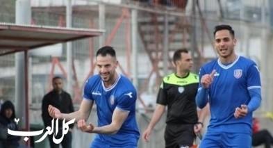 فوز الوصيف هبوعيل اكسال على نادي الطيرة بثلاثة أهداف