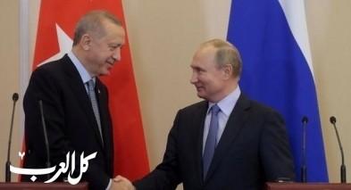 بوتين وأردوغان يناقشان الوضع في إدلب السورية
