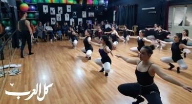 دروس مشاهدة لأهالي راقصين وراقصات مدرسة الامل للرقص
