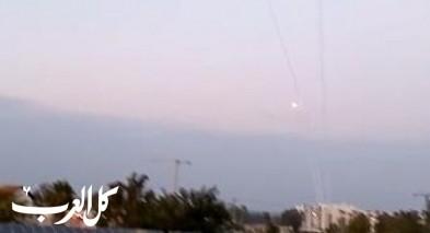الجنوب: القبة الحديدية تتصدى لقذائف من غزة