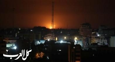 الجيش الاسرائيلي يعلن قصف مواقع للجهاد الاسلامي