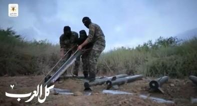 سرايا القدس تكشف فيديو لرشقات صاروخية