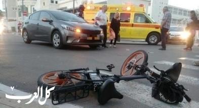 طوبا: اصابة راكب دراجة كهربائية بجراح خطيرة