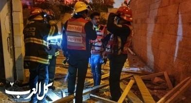 القدس: انفجار بمبنى واضرار جسيمة بالمكان