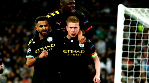 مانشستر سيتي يفوز على ريال مدريد في البرنابيو