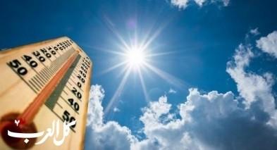 حالة الطقس: إرتفاع طفيف على درجات الحرارة