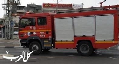 عرابة: إصابة رجل بحالة إختناق جرّاء إندلاع حريق بمنزل