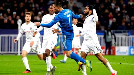 دوري أبطال أوروبا  يوفنتوس يسقط أمام ليون بهدف