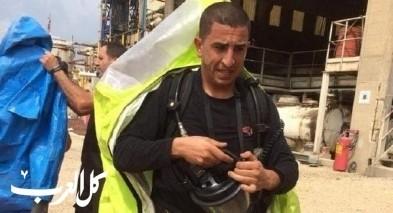 مجدي طيارة قائدًا لمحطة إطفاء أم الفحم