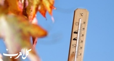 حالة الطقس: إرتفاع ملموس على درجات الحرارة