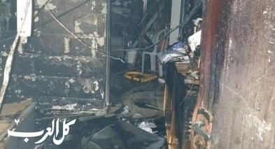 كفرياسيف: إندلاع حريق في مبنى المجلس المحلي