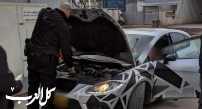 حملة مكثفة ضد السيارات المعدلة في منطقة الجليل