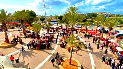 رهط: نحو 9000 سائح يزورون المدينة ضمن جنوب أحمر
