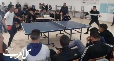 جديدة المكر: بطولة تنس الطاولة بالبيروني