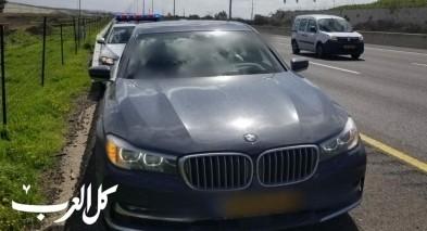 ضبط سائق من القدس يقود بسرعة كبيرة على شارع 6