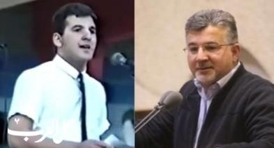 فيديو قبل 30 عامًا: خطاب للنائب جبارين